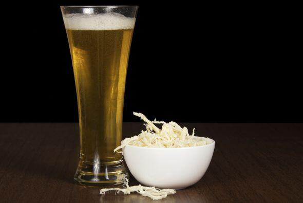 Los quesos frescos, el Brie y el Camembert combinan bien con cervezas li...