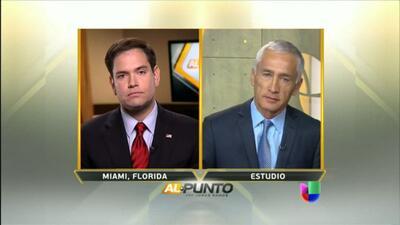 Sen. Marco Rubio habla sobre la propuesta de reforma migratoria en Al Punto