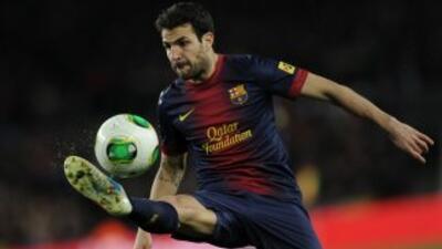 Fábregas tuvo un mal partido en la semifinal de vuelta.