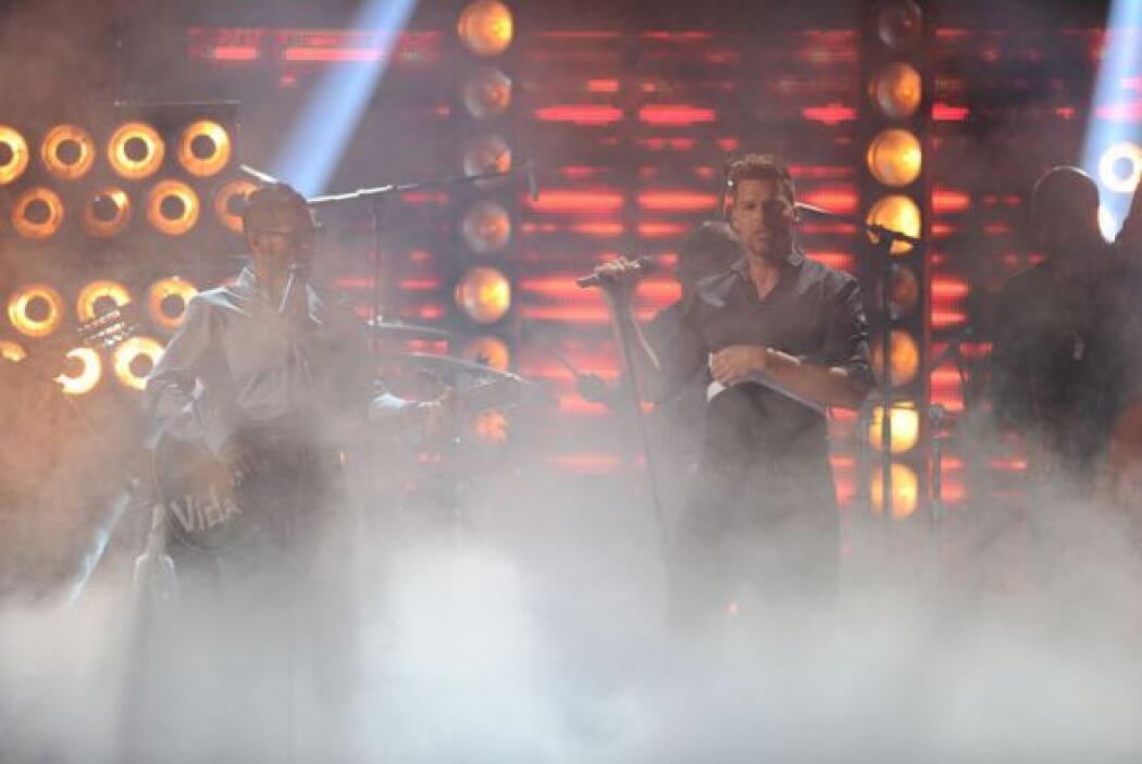 Además fue el regreso triunfal de 'Ricky' al escenario de Premio Lo Nues...