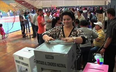 Histórica jornada electoral en Honduras