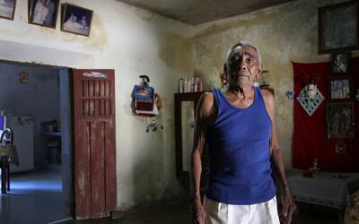 Cándido, de 81 años y quien vive en Tunkás, trabajó intermitentemente co...