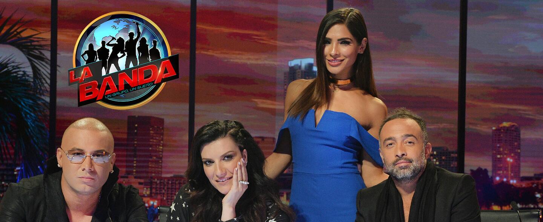 Wisin, Laura Pausini, Alejandra Espinoza y Mario Domm en la segunda temp...
