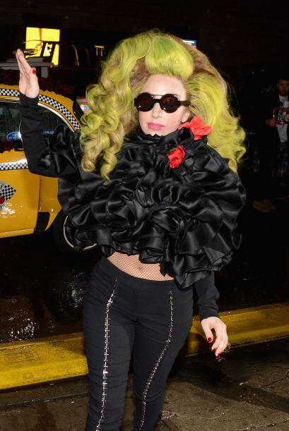 Este 2014 Lady Gaga no nos hizo extrañar sus excentricidades.