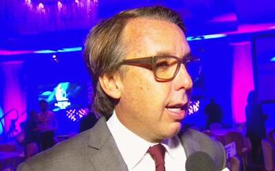 Emilio Azcárraga Jean, presidente de Grupo Televisa, fue homenajeado en...