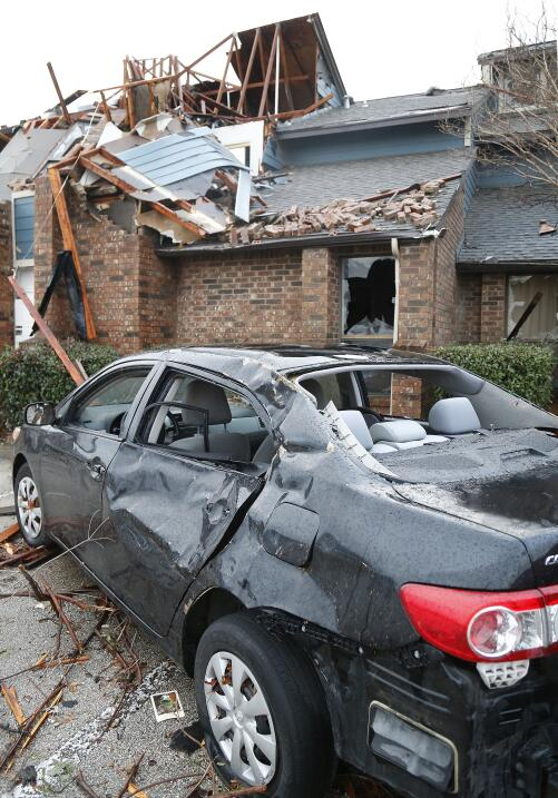 Tornado en Estados Unidos