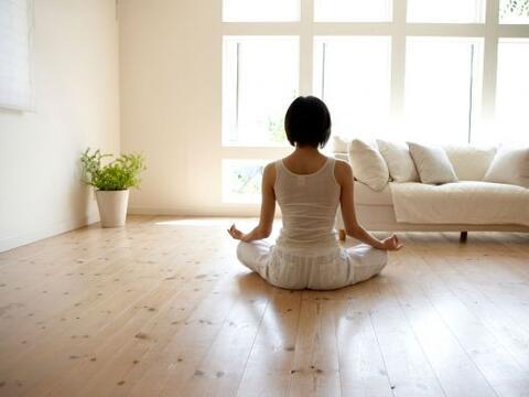 Un rincón zen puede ser el lugar propicio para meditar, para cone...
