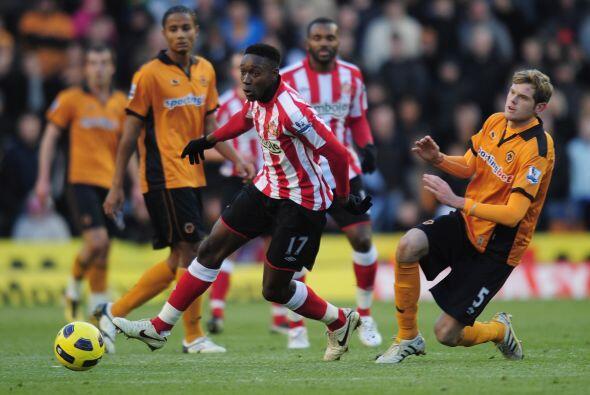 Wolverhampton luchó y superó al Sunderland 3 a 2.