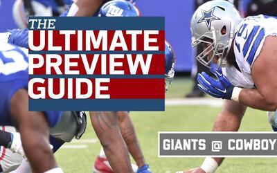 ¿Qué necesitan Cowboys y Giants para ganar?