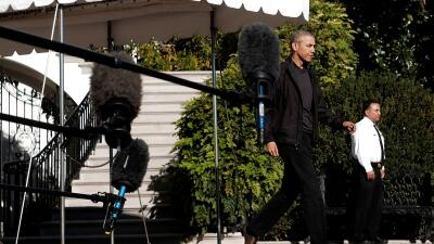 Barack Obama salió rumbo a Turquía