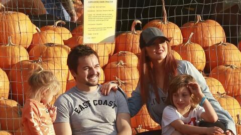 Christina Aguilera con sus adorables hijos