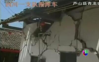 Devastador terremoto en China