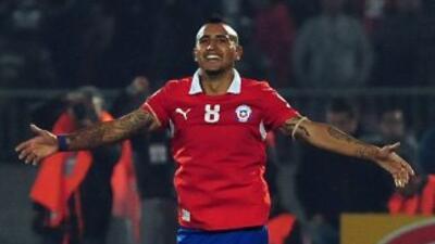 Vidal está en la lista definitiva de Chile para ir al Mundial.