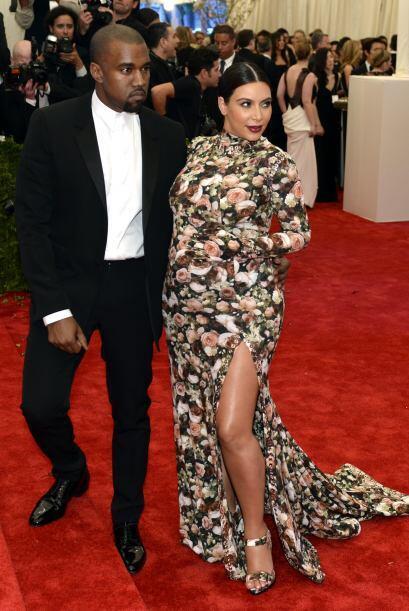 Según Kardashian tenía en mente ir enfundada en otro vesti...