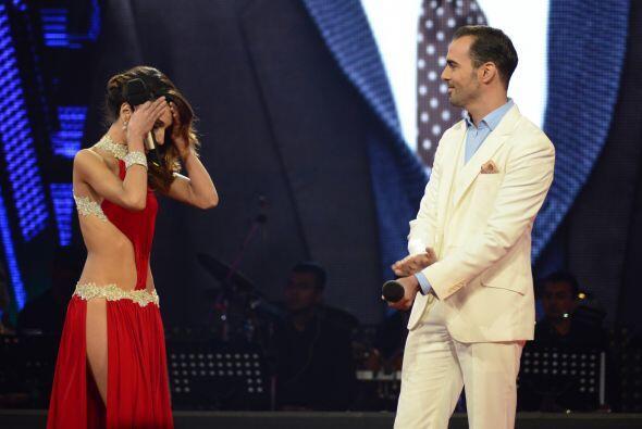 Joyce fue salvada, eliminando así a Arias de la competencia.