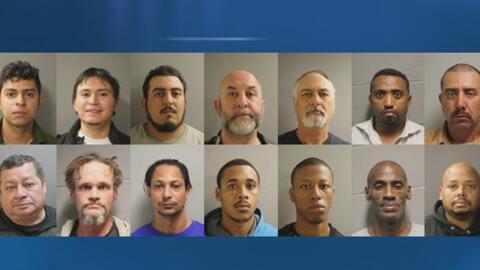 Al menos 32 personas arrestadas por ofrecer o buscar servicios sexuales...