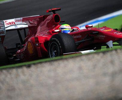 GP de ALEMANIA, 25 de julioLa Escudería Ferrari logró un p...