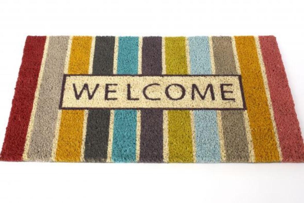 Existen muchos coloridos diseños para una cálida bienvenida. Los puedes...