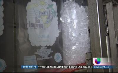 Cuidado al comprar bolsas de hielo posiblemente infectadas
