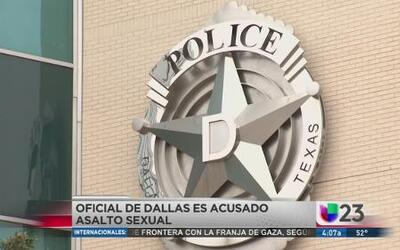 Policía acusado de abuso sexual