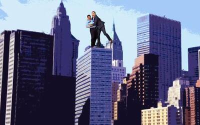 Alan Tacher demostró que no le tiene miedo a las alturas