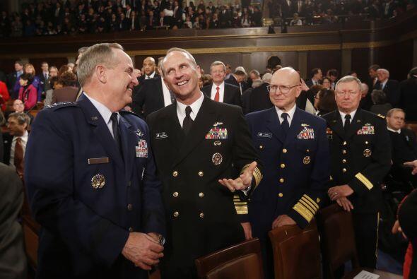 Los principales jefes del Estado Mayor, Fuerza Aérea, Operaciones...