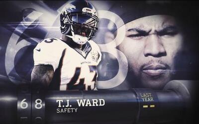 Top 100 Jugadores del 2016: (Lugar 68) SS T.J Ward