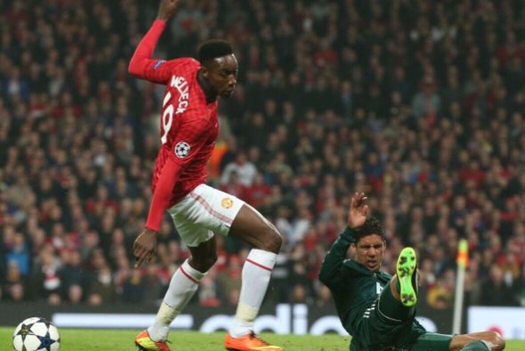 Danny Welbeck estuvo en la punta de ataque del Manchester United junto a...