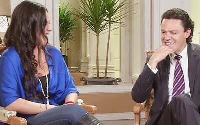La hija de Pedro Fernández vivió una emotiva entrevista con su papá