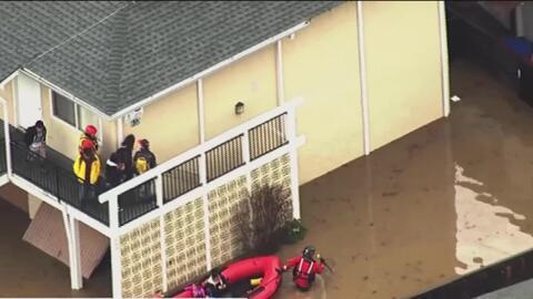 'Área de la Bahía en un Minuto': Más de 180 personas evacuaron sus vivie...