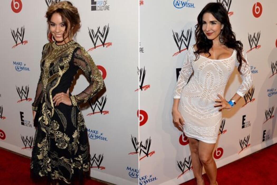 ¿Será que Vanessa Hudgens y Mayra Verónica querrán convertirse en luchad...