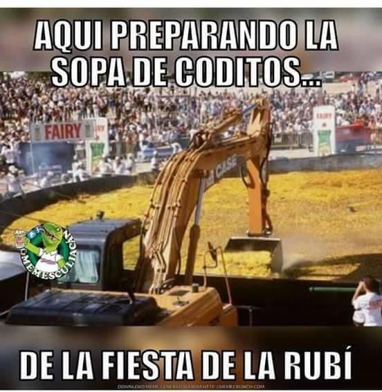Los mejores memes (y alguno muy malo) de Rubí 15380612_1136172236500797_...