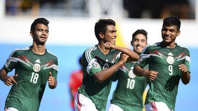 México 2 - Haití 0: El TRI sigue imbatible en el Premundial Sub-17