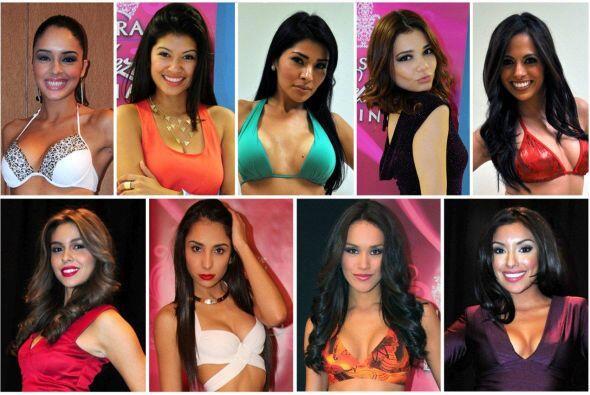 (De izq. a der.) Este año México tiene nueve mujeres bellas que quieren...