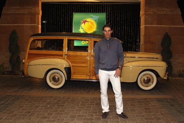 Rafael Nadal viene de participar en Copa Davis y también de recup...