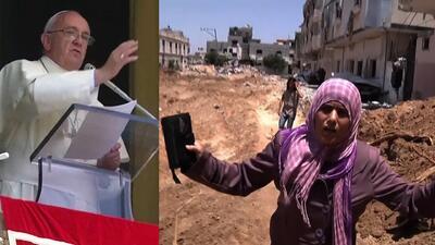 El Papa Francisco pide un alto a las guerras y reza por los niños afectados