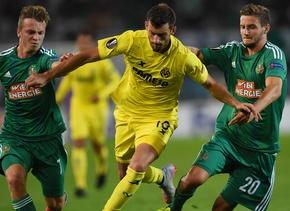 El Rapid de Viena superó al Villarreal en Europa League.