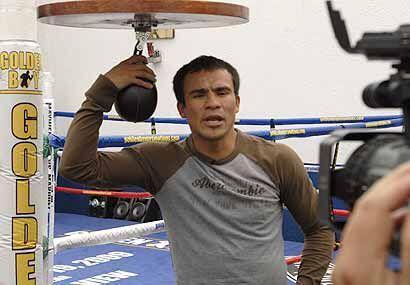 Márquez sabe muy bien que este será el combate más importante de su carr...