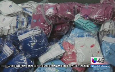 Autoridades realizan decomiso de droga sintética en Houston