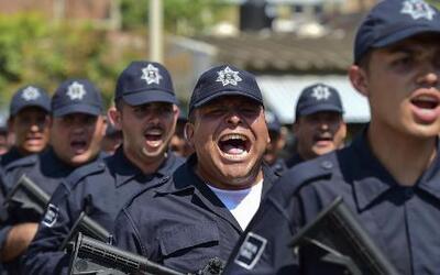 Bajar la criminalidad, la misión de la nueva fuerza policial en México