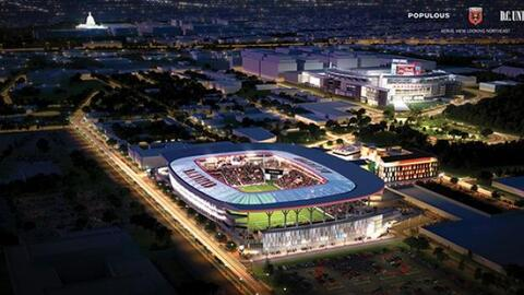 Imágenes del proyecto de estadio para D.C. United