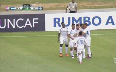 Nicaragua ya se impone a Belice por 1-0
