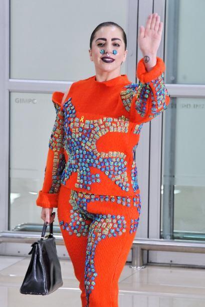 Lady Gaga se ha convertido en toda una reina del disfraz.