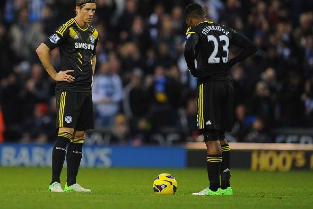 El Chelsea perdió con West Bromwich y pierde fuerza.