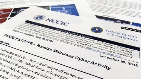 Portada del informe confidencial sobre los ataques cibernéticos d...