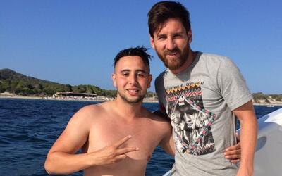 Suli junto con Messi