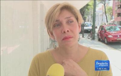 Primeras declaraciones de Cynthia luego de la muerte de su madre