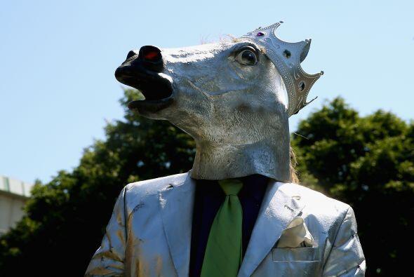 En día en el que todos tienen a los caballos en la cabeza, y no sólo en...