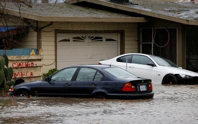 Declaran emergencia por la tormenta que azota California, la más fuerte...