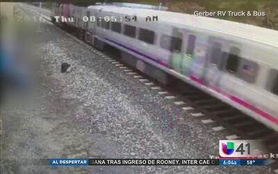 Revelan video del tren antes de que chocara en Hoboken
